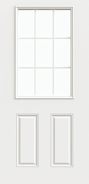 9LIte Steel Door