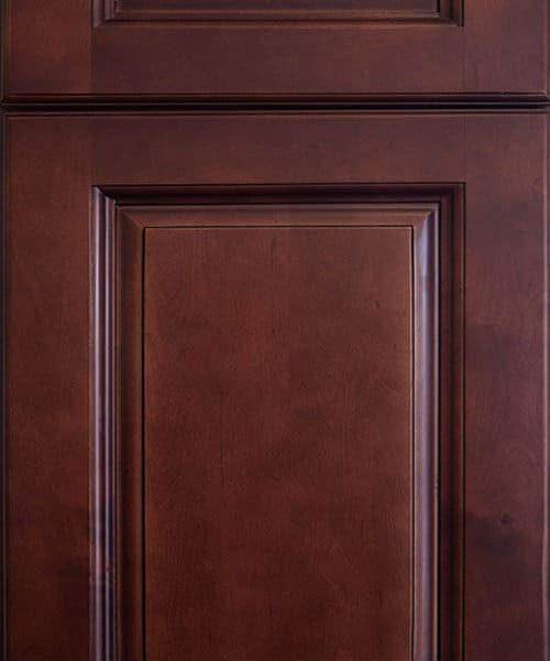 Dark-Cherry DEsign Cabinet