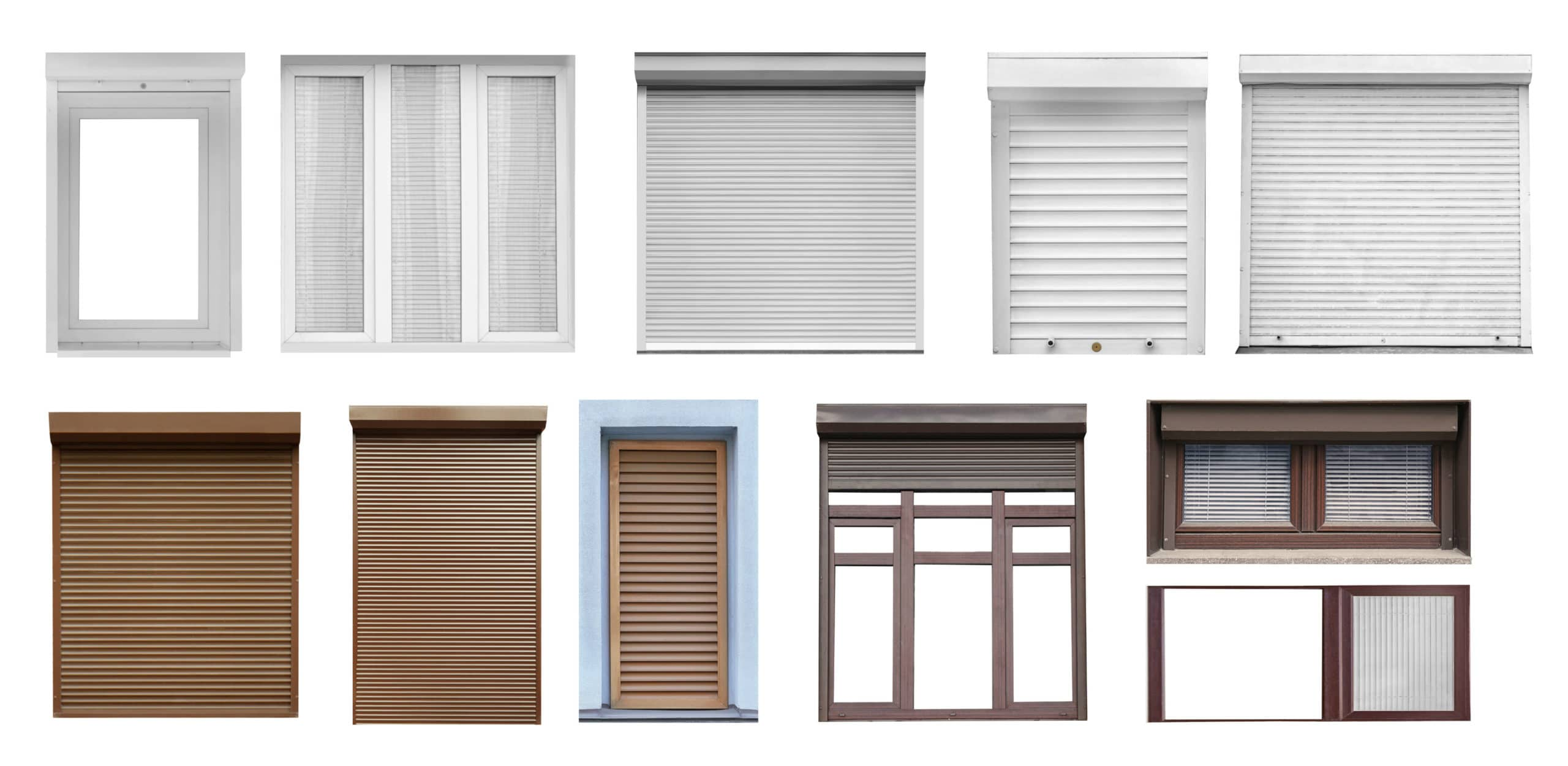 types of windows, modern styles